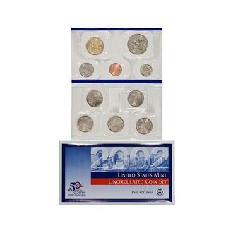 Набор монет США (2002 год) (P)