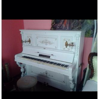 Антикварное номерное фортепиано после реставрации Paul Scarff Berlin кону 18 века