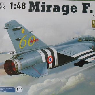 Сборная модель самолета Mirage F.1B 1:48 Kitty Hawk