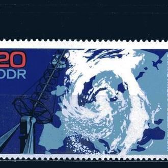 ГДР. Потсдамская обсерватория (серия, сцепка) ** 1968 г.