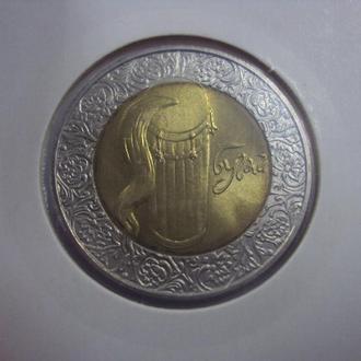 5 гривен бугай 2007 лот 2 шт №164