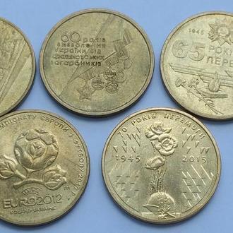 1 гривна 2004-2015