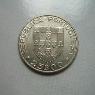 Португалия 25 эскудо 1986 юб.
