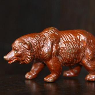 индейцы ковбои ГДР (№319 ) пустотелый пластиковый медведь RRRR