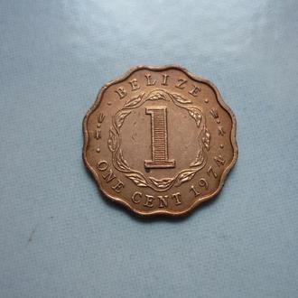 Белиз 1 цент 1974