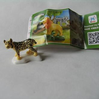 NATOONS Животные рысь FS019 + вкладыш