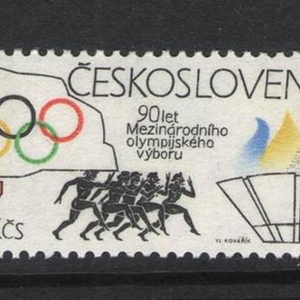 Чехословакия - олимпиада 1984 - Michel Nr. 2750 **