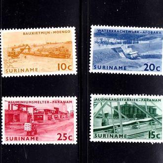 Суринам  1965 г  MNH - п/с -  техника -