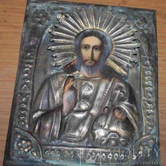 Икона Господь вседержитель 18х14