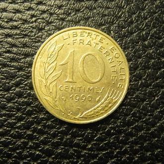 10 сантимів 1990 Франція