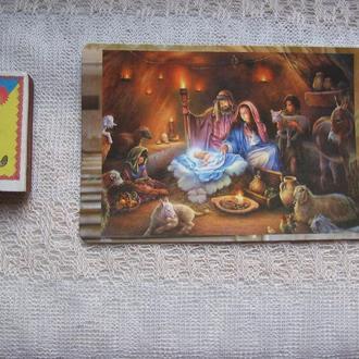 Открытка Рождество Христово