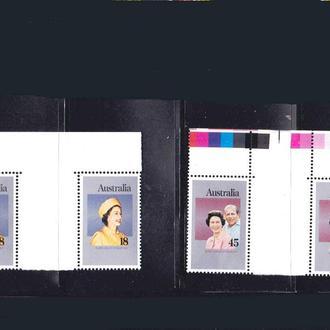 Австралия 1977 г   MNH - г/пары - 25 лет
