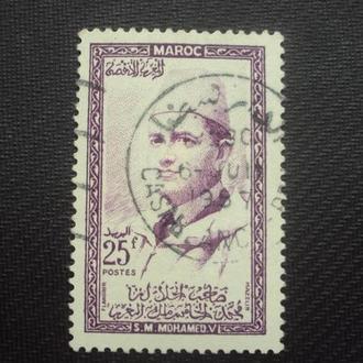 Марокко 1956г.гаш. Колонии Франции.