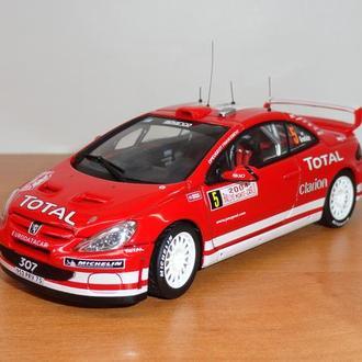 1/43  Peugeot 307 WRC 2004 #5  AutoArt