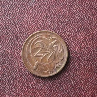 Австралия, 2 цента, 1976г.