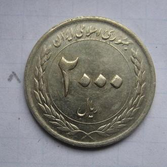 ИРАН. 2000 риалов 2010 года (Центральный банк Ирана. 50-летие).