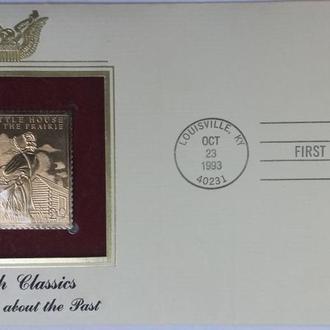 конверт первого дня США-Американская классика