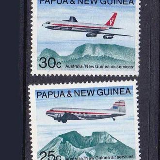 Авиация .  Папуа Новая Гвинея 1964 г  MNH -