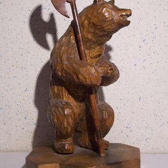 Геральдический медведь с топором, Ярославль, СССР, 1960-ые