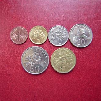 Сингапур набор монет 1993 - 2001
