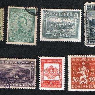 Болгария. Старые марки