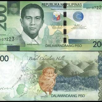 ФИЛИППИНЫ 200 писо 2015г. UNC