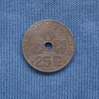 Бельгия  25 сантим 1942 г