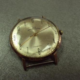 часы наручные циферблат механизм луч позолота №128