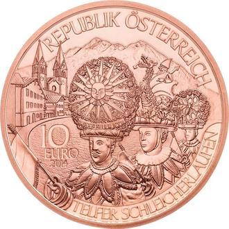 10 Евро 2014 Тироль,(15) Австрия
