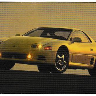 Календарик 1997 Авто Mitsubishi