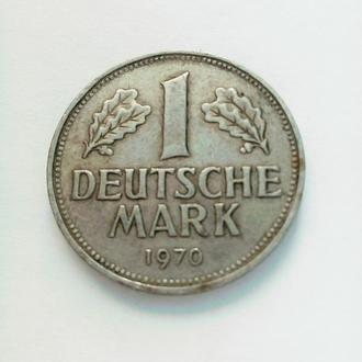 Монета 1 марка 1970 г.