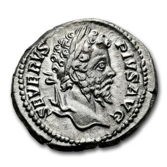 """(А)2699 - Септимий Север (193—211 г.) АR Денарий """"Основатель Мира"""""""