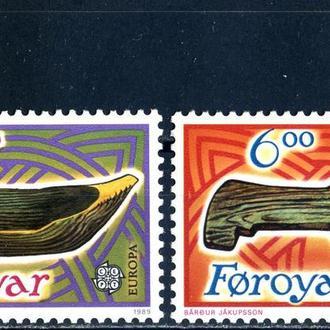 Фарерские острова. Игрушки (серия)** 1989 г.