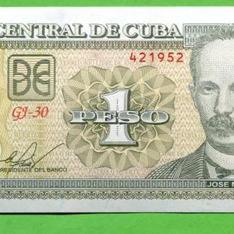 Куба 1 песо 2009 UNC
