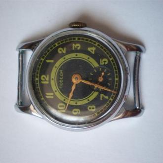 часы Победа черные сохран как новые 1303