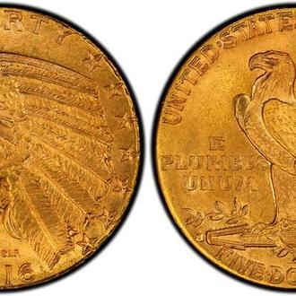 5 долларов США 1916 год