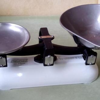 Английские кухонные антикварные весы