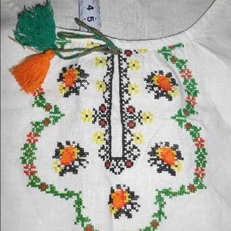 вишита сорочка без дефектiв жiноча женская (№691)