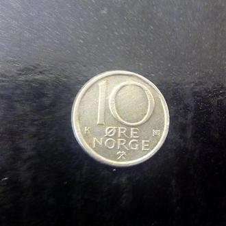 10 эре (1983) Норвегия.