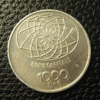 1000 лір 1970 Італія Рим срібло