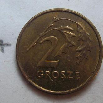 2 гроша 1999 г., ПОЛЬША.