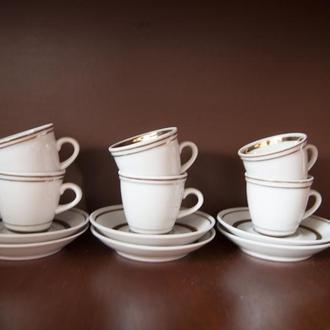 фарфоровый кофейный сервиз Полонное