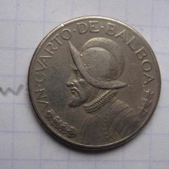 ПАНАМА, 1/4 бальбоа 1996 г. (КОНКИСТАДОР).