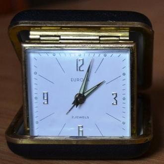 Часы дорожный будильник EUROPA Германия