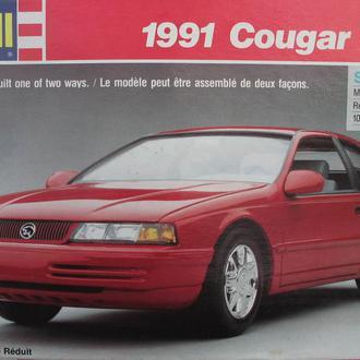 Сборная модель автомобиля Ford '91 Merquri Cougar XR-7 1:25 Revell