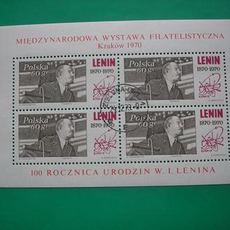 Польша   1970 Ленин *