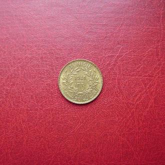 Тунис 1 франк 1941