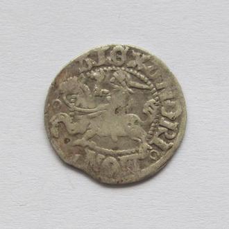 полугрош 1501-1506гг Александр Ягелончик , Литва, Вильно (А26)