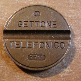 жетон телефонный