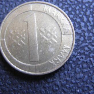 1 марка 1998 Финляндия